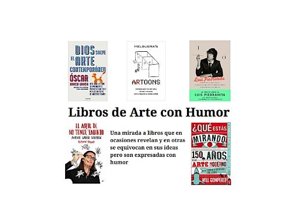 libros de arte con humor
