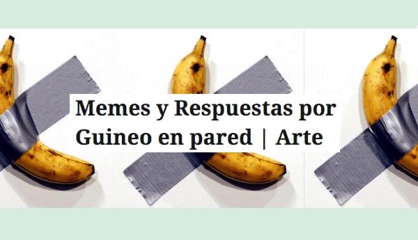 memes guineo cattelan art basel
