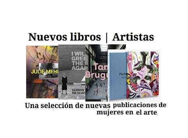 nuevos libros mujeres en el arte