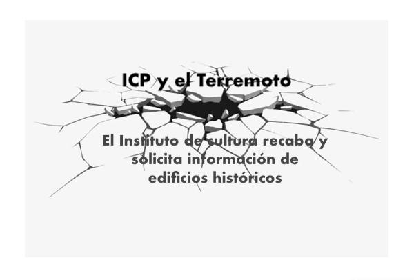ICP y el Terremoto