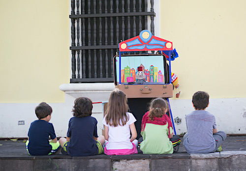 fiestas calle san sebastián teatro infantil