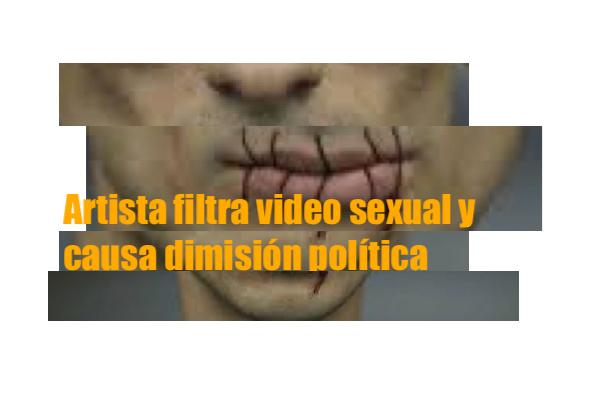 Artista video sexual dimisión política Pavlensk Griveaux