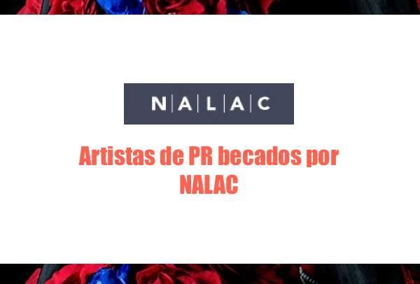 Artistas de PR becados por NALAC