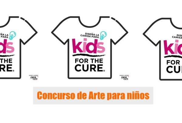 competencia de Arte infantil race fo kids for the cure race for the cure