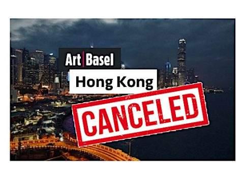 art basel hong kong cancelada