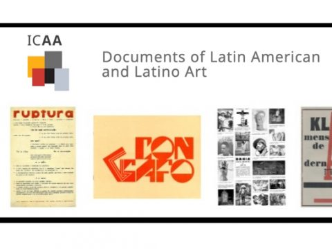 ICAA archivo latino arte houston