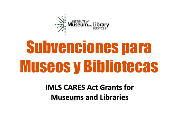 Subvenciones para Museos y Bibliotecas