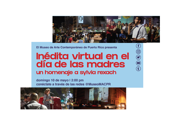inédita virtual conciertos virtuales con canciones de Sylvia Rexach