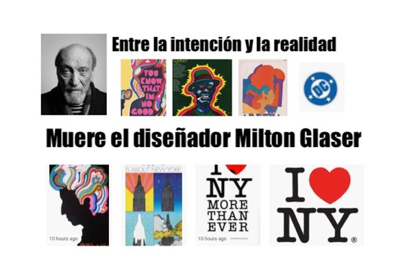 milton glaser dead of a designer