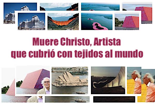muere christo artista del Land Arte que envolvio al mundo con su arte