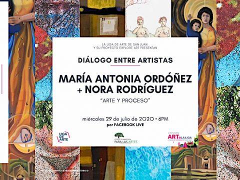 dialogo entre artistas online