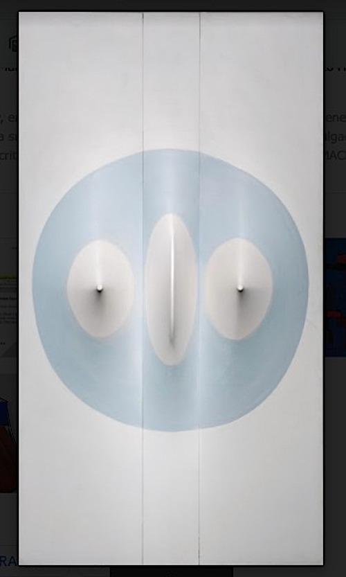 pintura de zilia sánchez colección mac