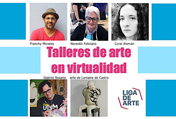 liga de arte talleres virtuales