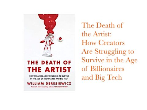 The Death of the Artist by William Deresiewicz