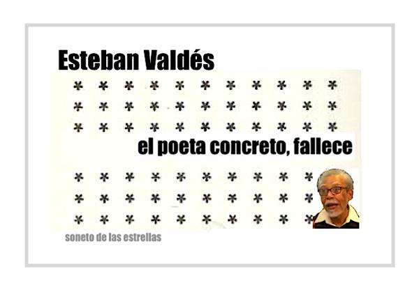 esteban valdés poeta artista fuera de serie