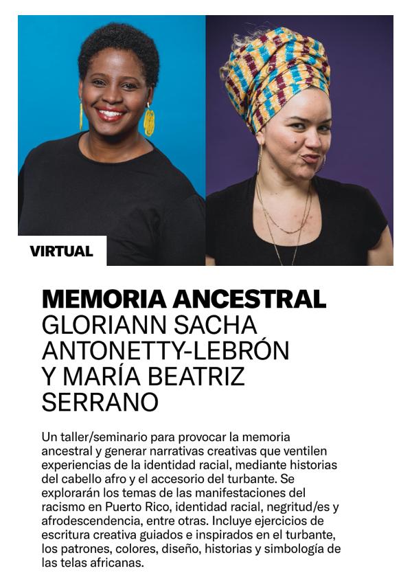 Cursos cortos del Museo de Arte Contemporáneo de Puerto Rico