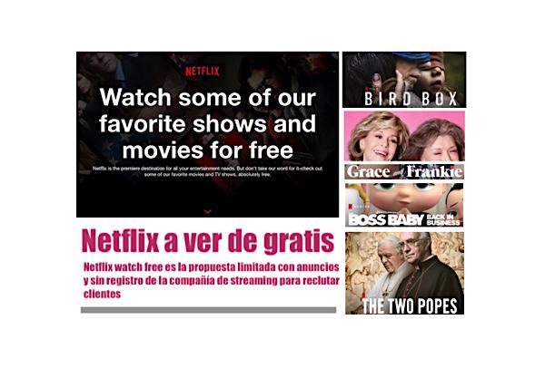 netflix promotion free movies