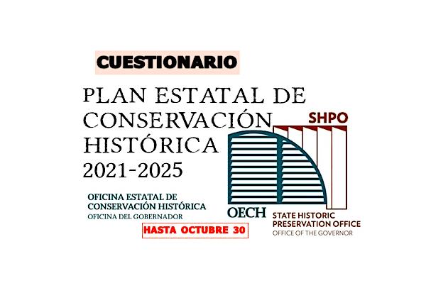 Plan Estatal de Conservación Histórica