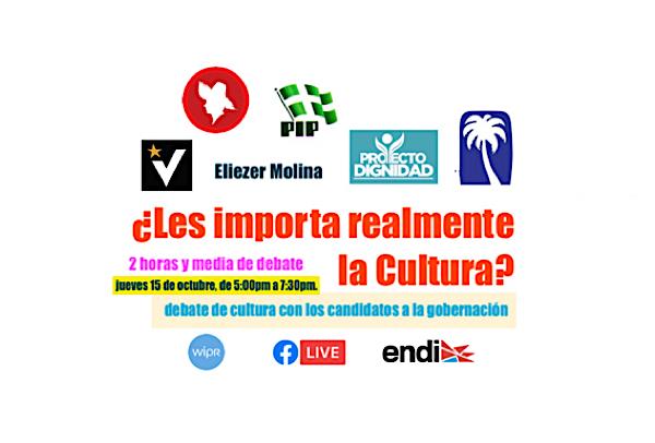 debate candidatos acerca cultura