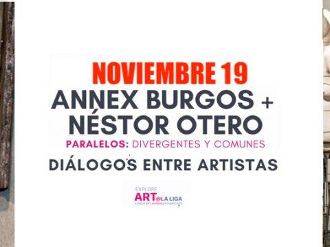 Artista Annex Burgos y Néstor Otero