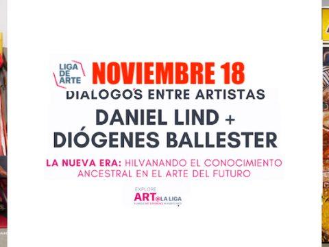 Dialogo Daniel Lind y Diógenes Ballester