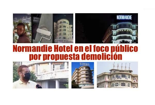 normandie hotel controversia abandono