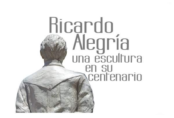 Escultura homenaje a Ricardo Alegria
