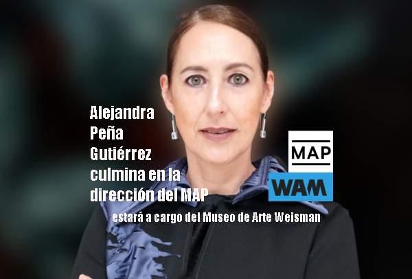 Alejandra Peña Gutiérrez culmina en la dirección del MAP