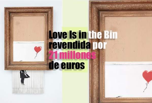 Love Is in the Bin, de banksy